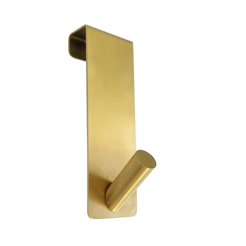 קולב לדלת בודד זהב מט