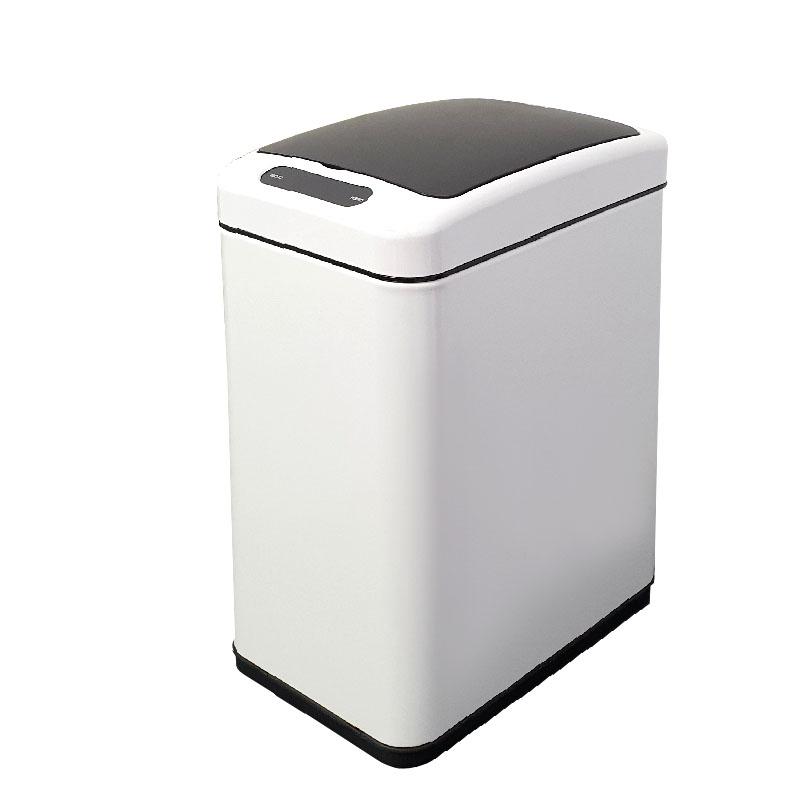 פח אשפה סנסור אלקטרוני 8 ליטר לבן