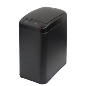 פח אשפה סנסור אלקטרוני 8 ליטר שחור מט