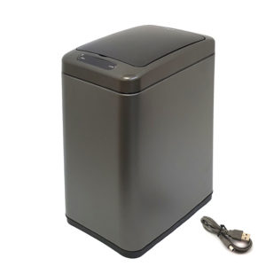 פח אשפה סנסור אלקטרוני 8 ליטר גרפיט