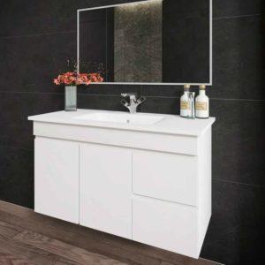 ארון אמבטיה תלוי אפוקסי GLORY לבן