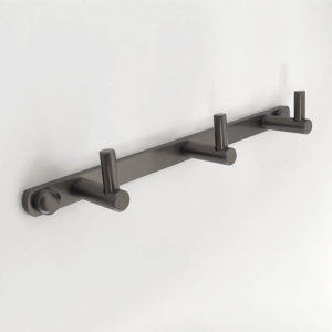 קולב אמבטיה שלושה ווים גרפיט PYG203GR 3