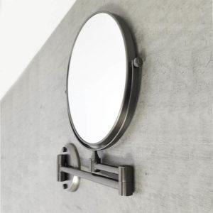 מראה מגדילה פי 7 לקיר דו צדדית גרפיט Z515GR 4