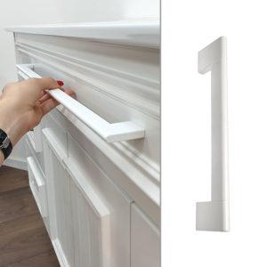 ידיות למטבח במידות ארוכות דגם 9023 לבן 3