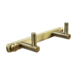 קולב למגבות אמבטיה זוגי ברונזה PYG202BR 3