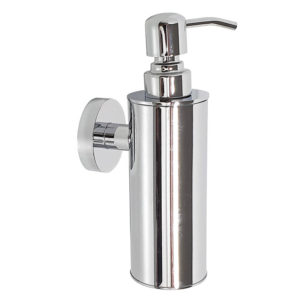 דיספנסר לסבון נוזלי מדגם לוטוס ניקל מבריק