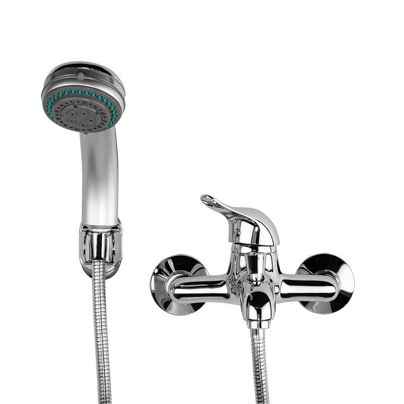 ברז לאמבטיה סוללה קומפלט 2303 ניקל