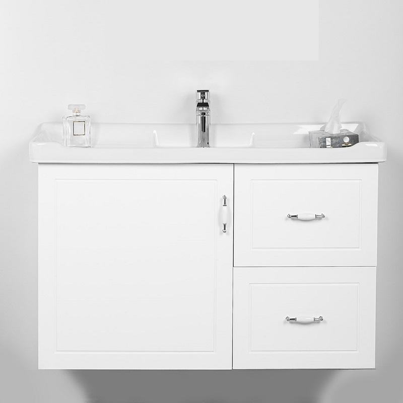 """ארון אמבטיה תלוי אפוקסי 100 ס""""מ טורינו לבן"""