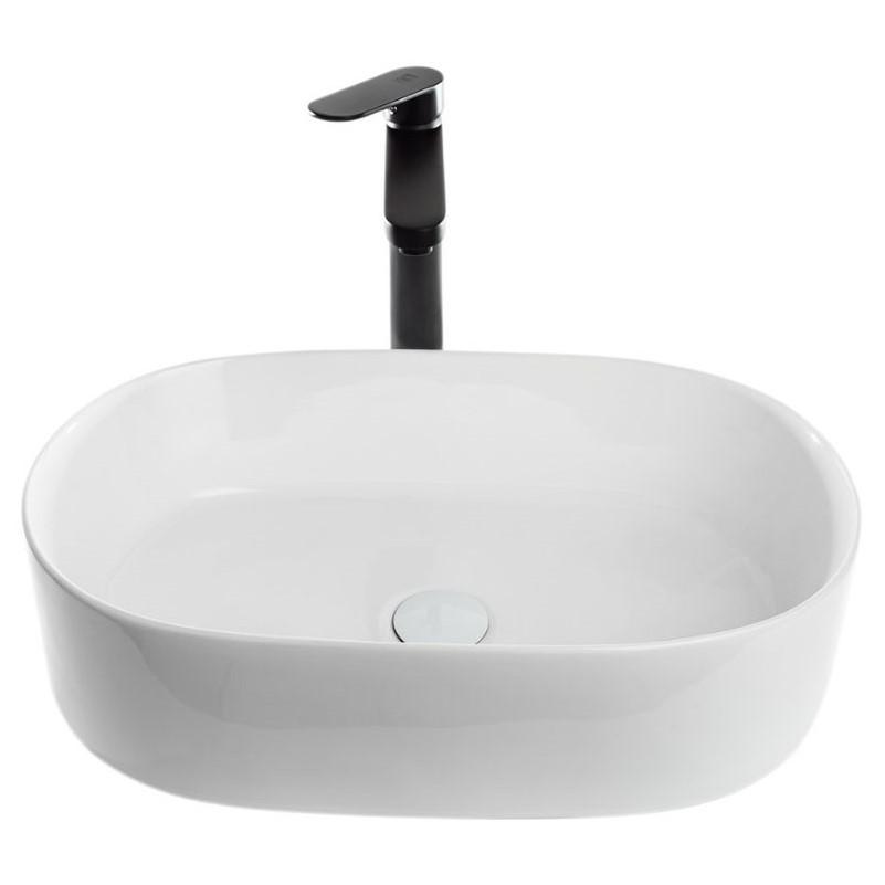 כיור אמבטיה מונח 56.5/36.5 לבן