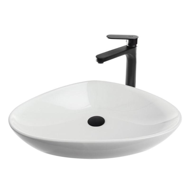 כיור אמבטיה מונח 59/39 לבן