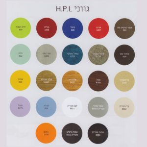 ארון אמבטיה אמבין HPL דגם אלעד 1