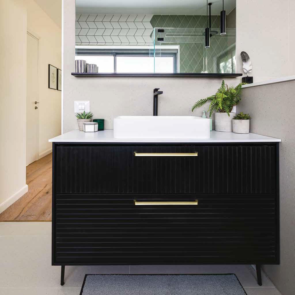 ארון אמבטיה אמבין HPL דגם ניו יורק