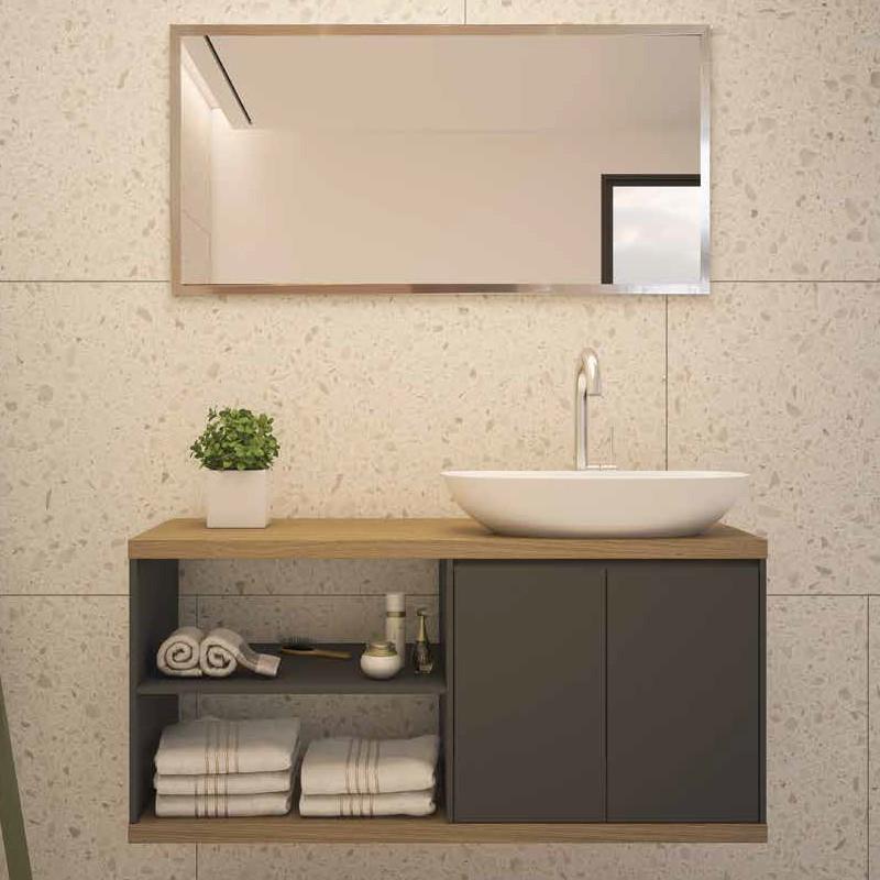 ארון אמבטיה אמבין HPL דגם אלעד