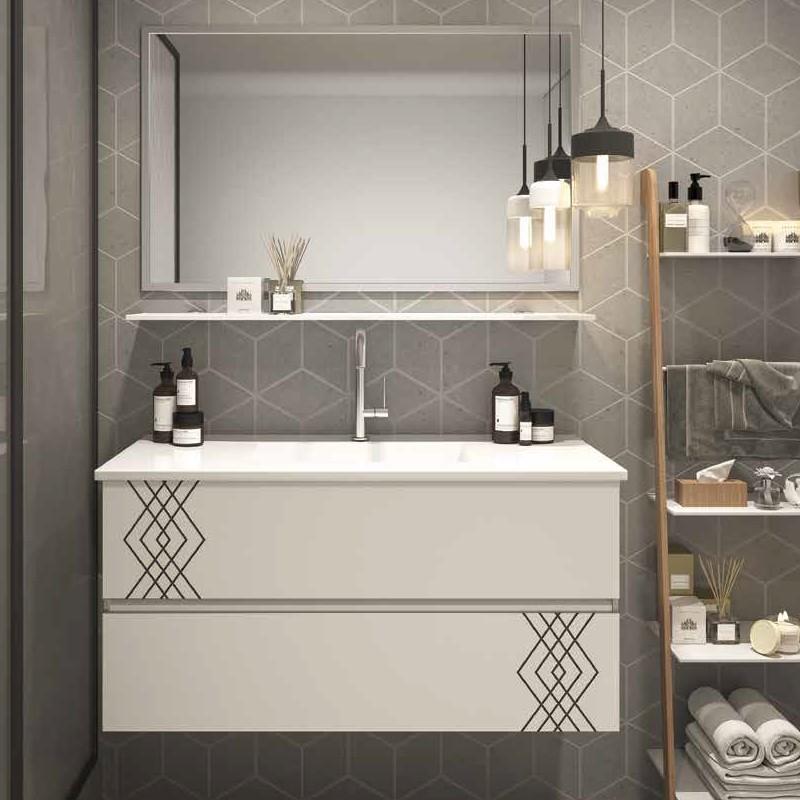 ארון אמבטיה אמבין HPL דגם לוצרן