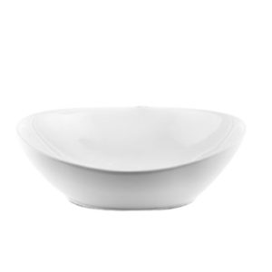 כיור אמבטיה מונח חרס אובלי 35/27 לבן