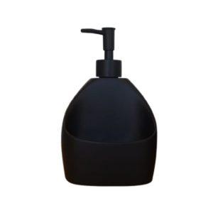 דיספנסר מטבח שחור מט לסבון נוזלי