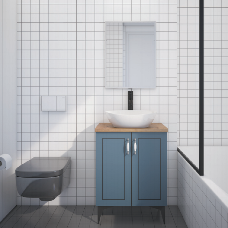 ארון אמבטיה אמבין HPL דגם בריסל