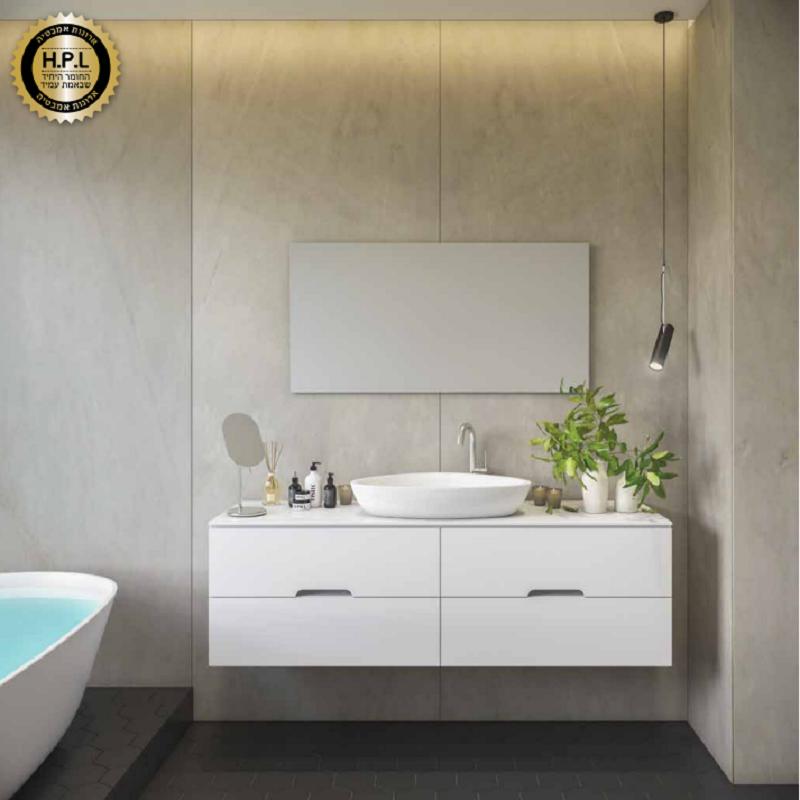 ארון אמבטיה אמבין HPL דגם ברצלונה