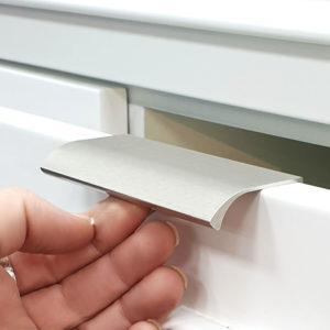 ידיות לדופן מגירה | דלת במידות ארוכות 6040 מוברש