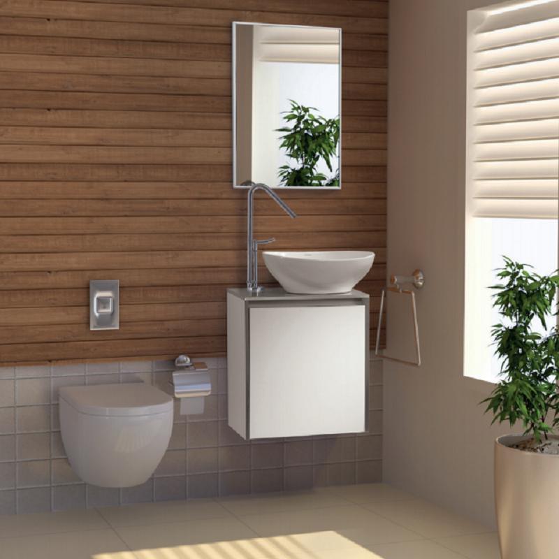 ארון אמבטיה אמבין HPL דגם סאן