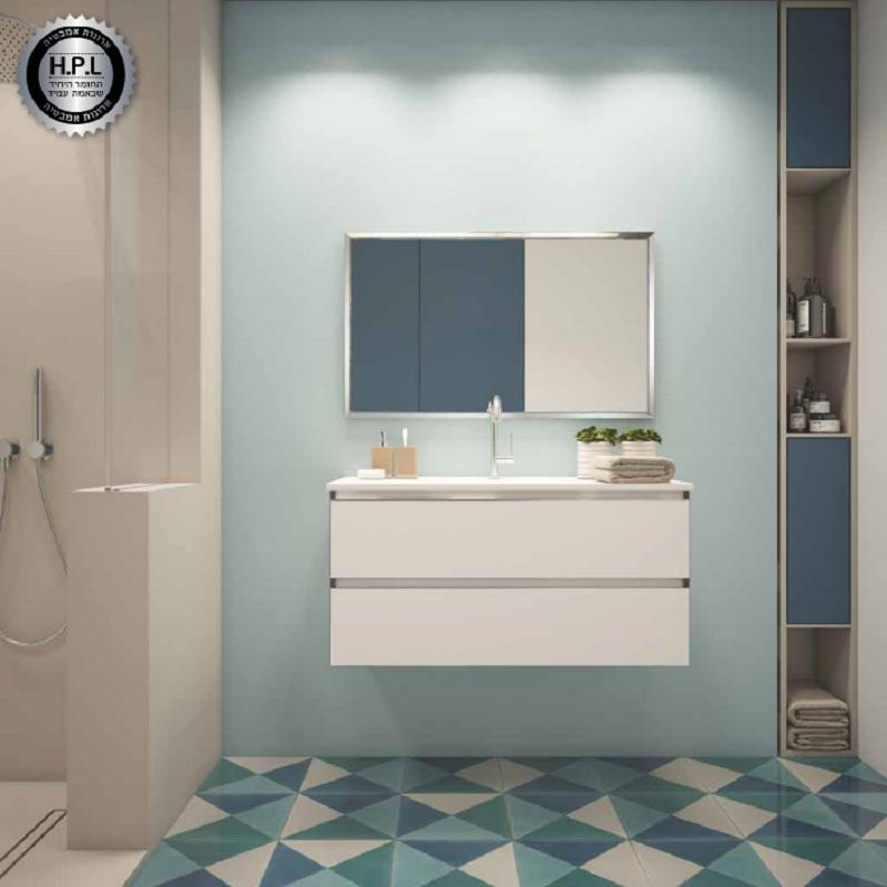 ארון אמבטיה אמבין HPL דגם פלרמו