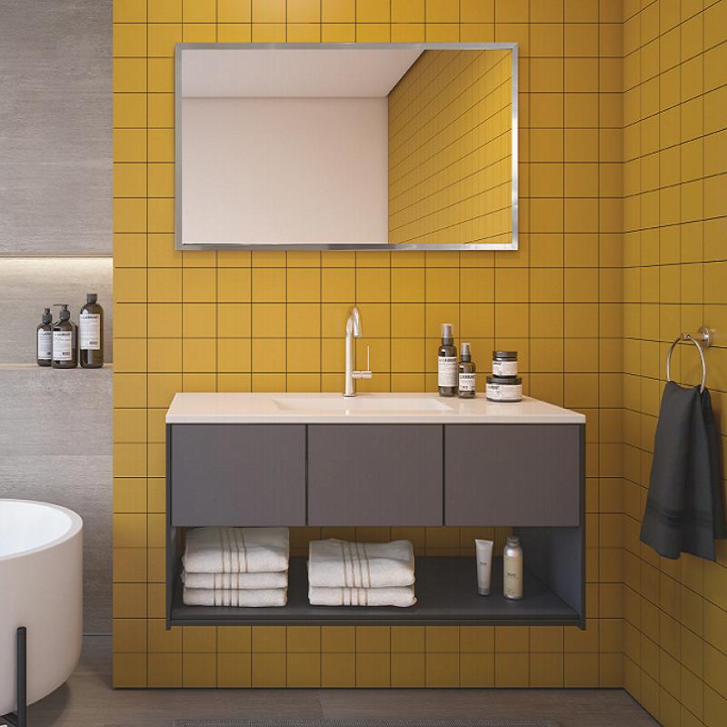 ארון אמבטיה אמבין HPL דגם ציפורי