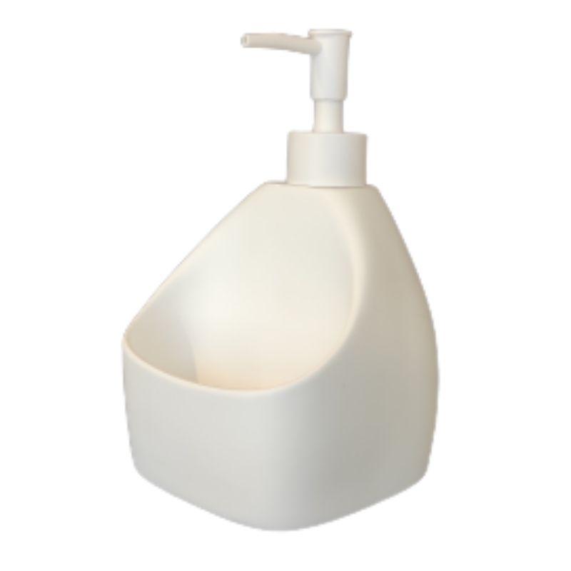 דיספנסר מטבח לבן מט לסבון נוזלי