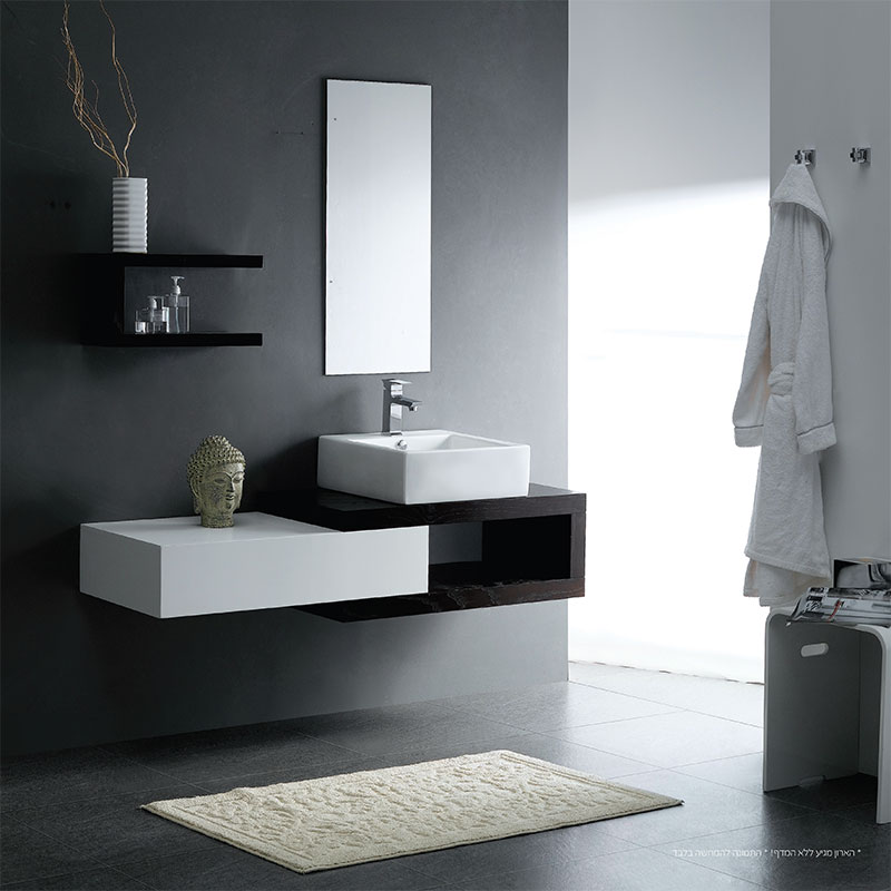 ארון אמבטיה אפוקסי תלוי OPAL