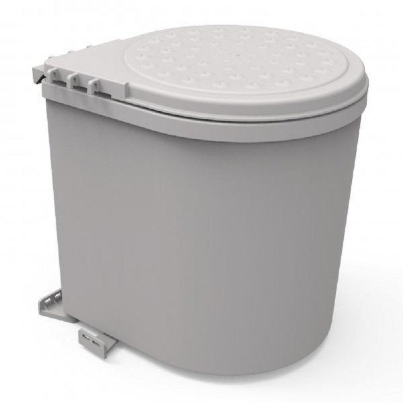 פח אשפה נשלף עגול פלסטיק 11 ליטר