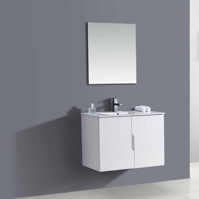ארון אמבטיה תלוי פורמיקה לבן מט OR