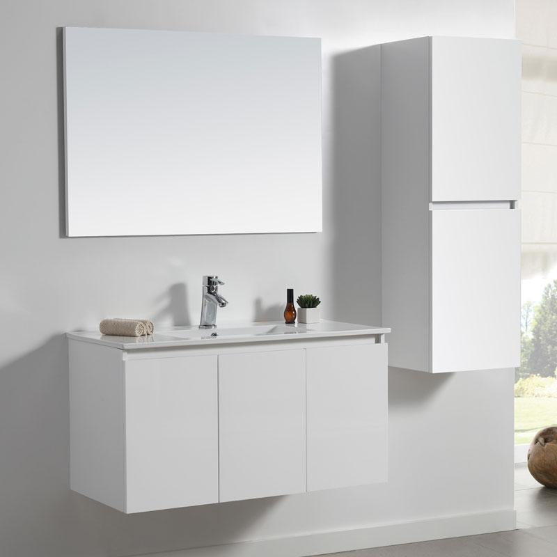ארון אמבטיה תלוי פורמיקה לבן מט MELANI