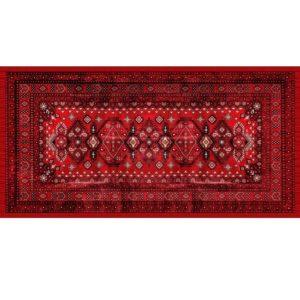 """שטיח למטבח מעוצב מנדלה קשת 60/90 ס""""מ 19"""