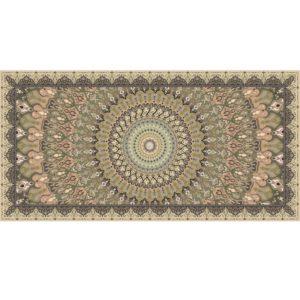 """שטיח למטבח מעוצב מנדלה קשת 60/90 ס""""מ 8"""