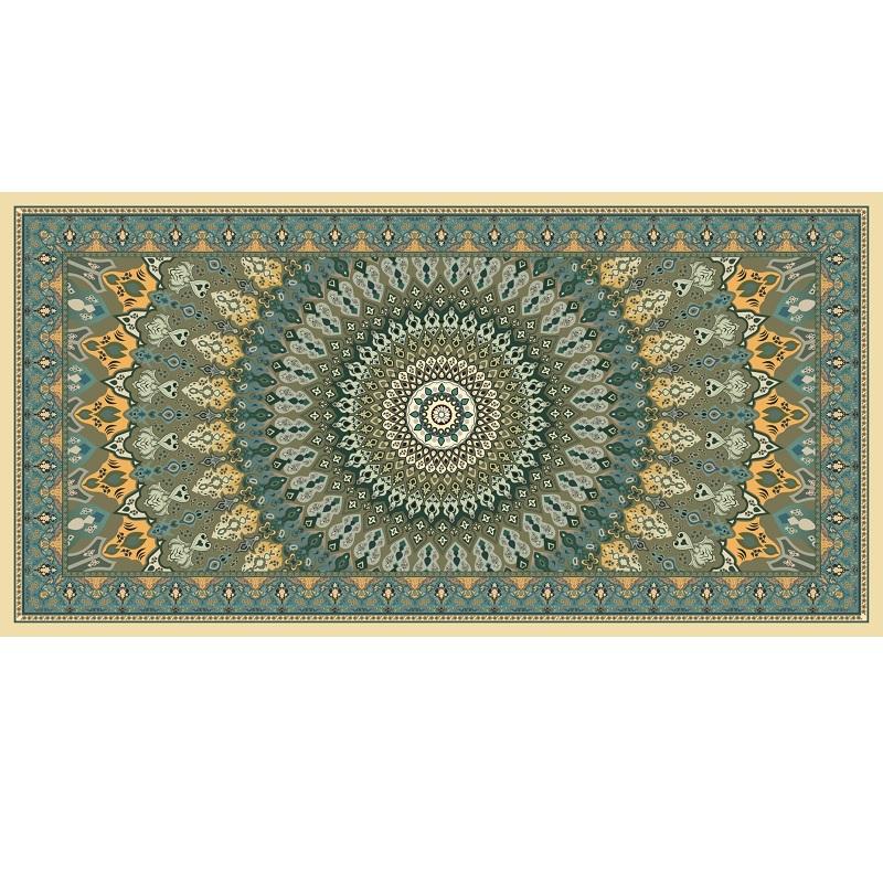 """שטיח למטבח מעוצב מנדלה קשת 60/90 ס""""מ"""