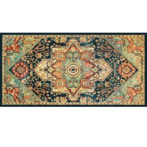 """שטיח למטבח מעוצב מנדלה קשת 60/90 ס""""מ 5"""