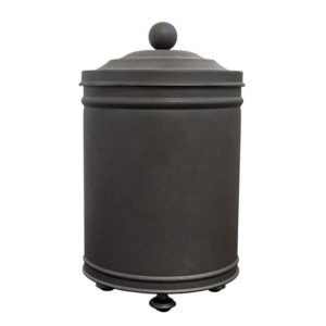 פח אשפה 5 ליטר עבודת יד נפחות שחור חולי