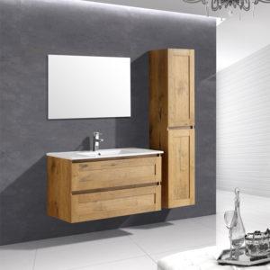 ארון אמבטיה תלוי פורניר טבעי EMMA